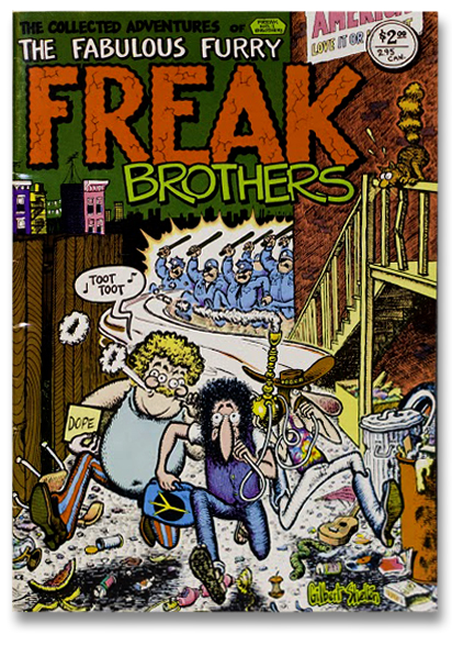 Gilbert Shelton Freak Brothers Comic Art