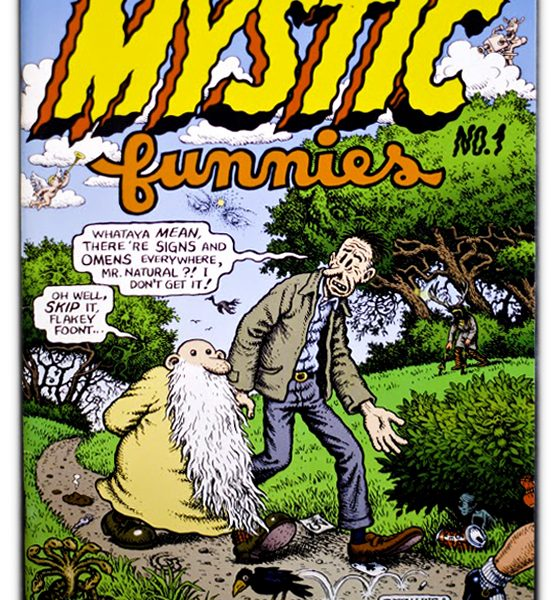 Mystic Funnies Comic Book Cover